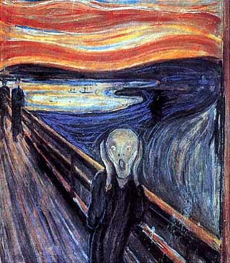 l?urlo di Munch
