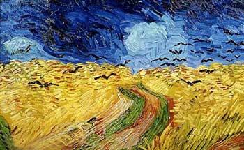 Van Gogh - Campo di grano con corvi - 1890