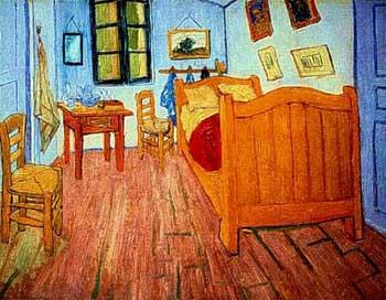 Arte moderna quadri vincent van gogh la camera da letto di arles - La camera da letto van gogh ...