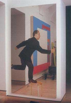 Arte moderna quadri michelangelo pistoletto - Quadri a specchio moderni ...